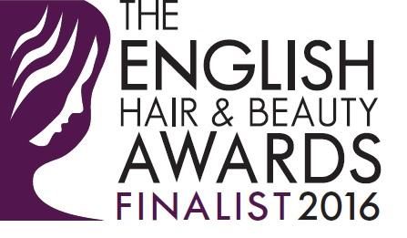 The English Hair & Beauty Awards 2016  - FINALIST BADGE